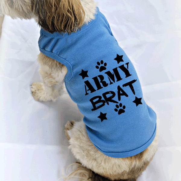 Army Brat Dog Tank Top