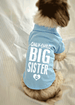 Only Child Big Sister Small Dog Polo T-Shirt