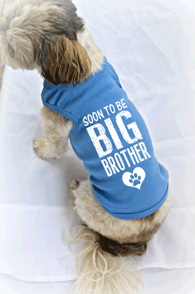 Soon to be Big Brother Dog Tank Top