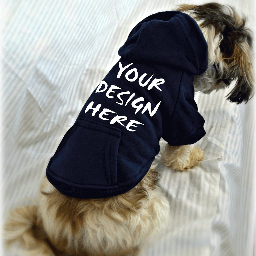 Pre-Made Custom Design Printed on Small Dog Shirt (shirt not included)
