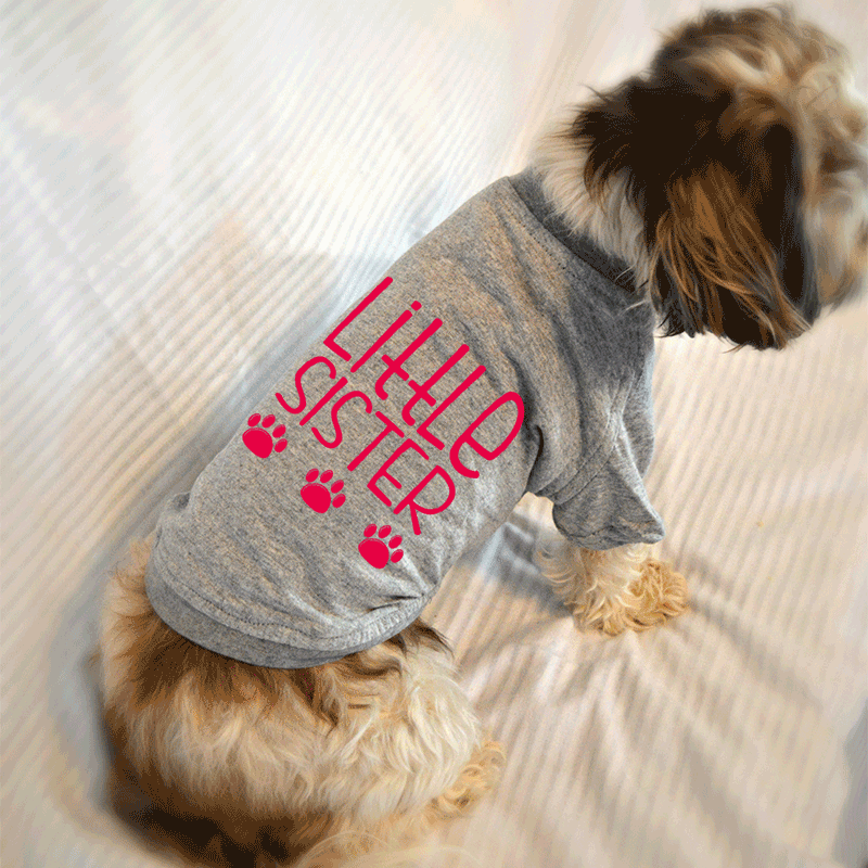 Little Sister Dog T-Shirt