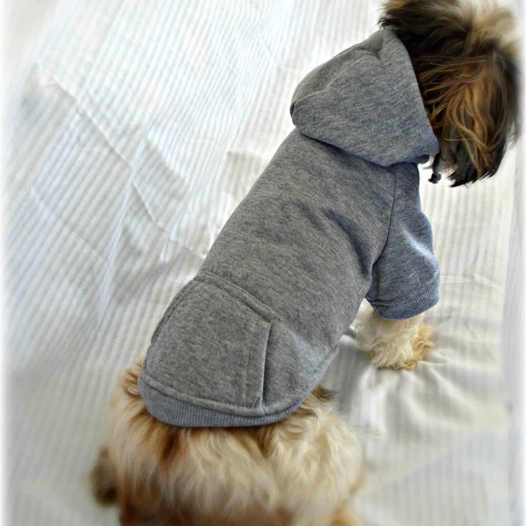 Smaller Breed Plain Dog Sweatshirt