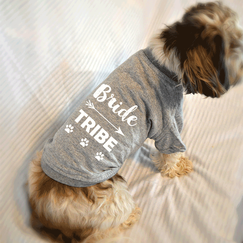 Bride Tribe Bachelorette Party Dog T-Shirt