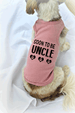 Soon To Be Uncle Dog Tank Top