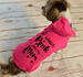 I Wear Pink for my Mom Breast Cancer Dog Hoodie T-Shirts