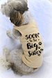 Soon to be Big Sister Dog Tank Top. Whimsical Design.