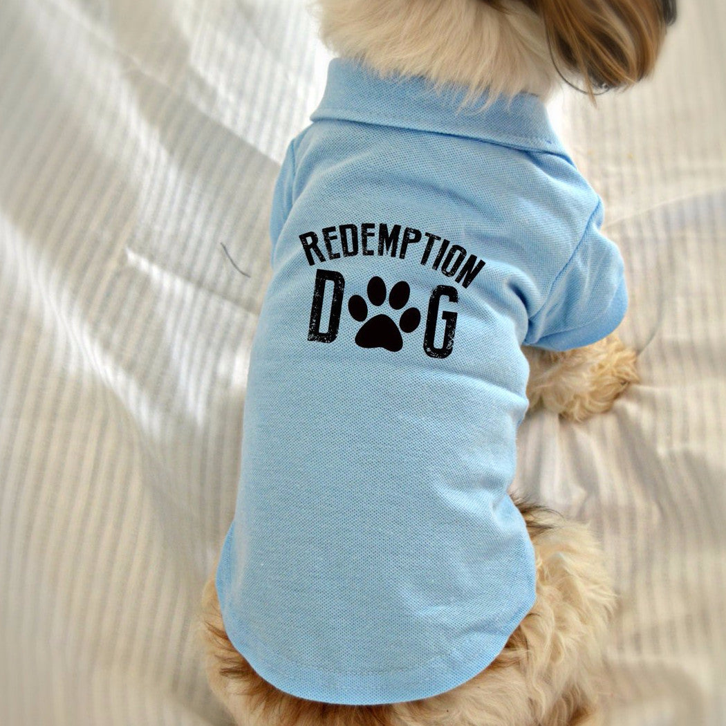 Small Dog Polo Shirt With Custom Design Or Logo Redemption Dog
