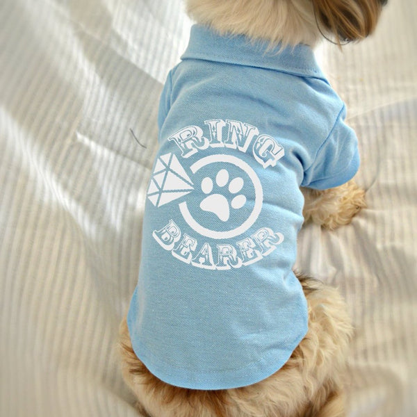 Ring Bearer Dog Polo T-Shirt