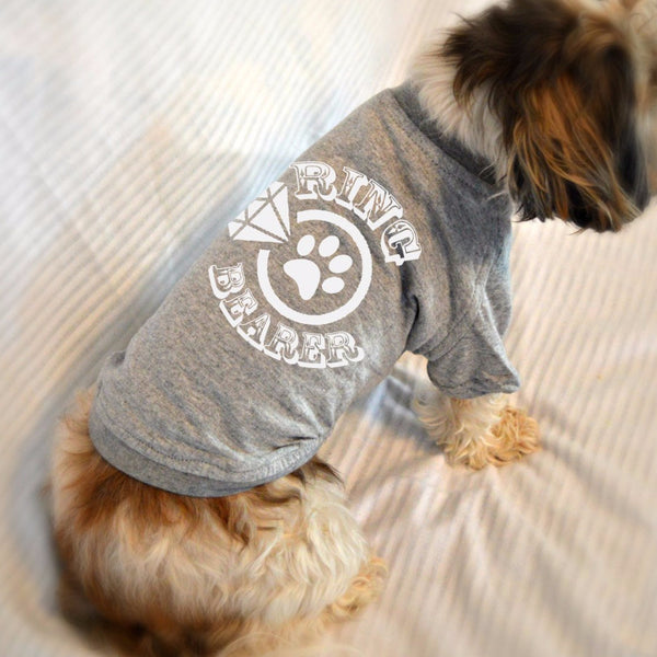 Ringbearer Small Dog T-Shirt