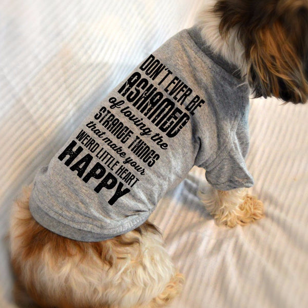 Strange Little Things Small Dog T-Shirt