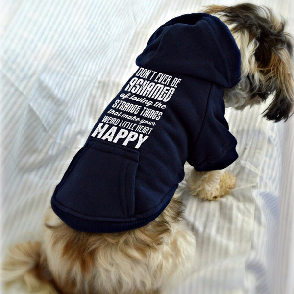 Strange Little Things Small Dog Sweatshirt