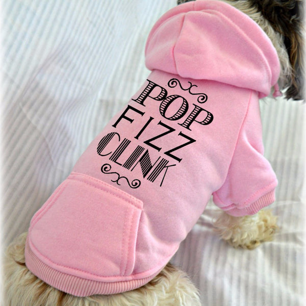Pop Fizz Clink Party Dog Sweatshirt
