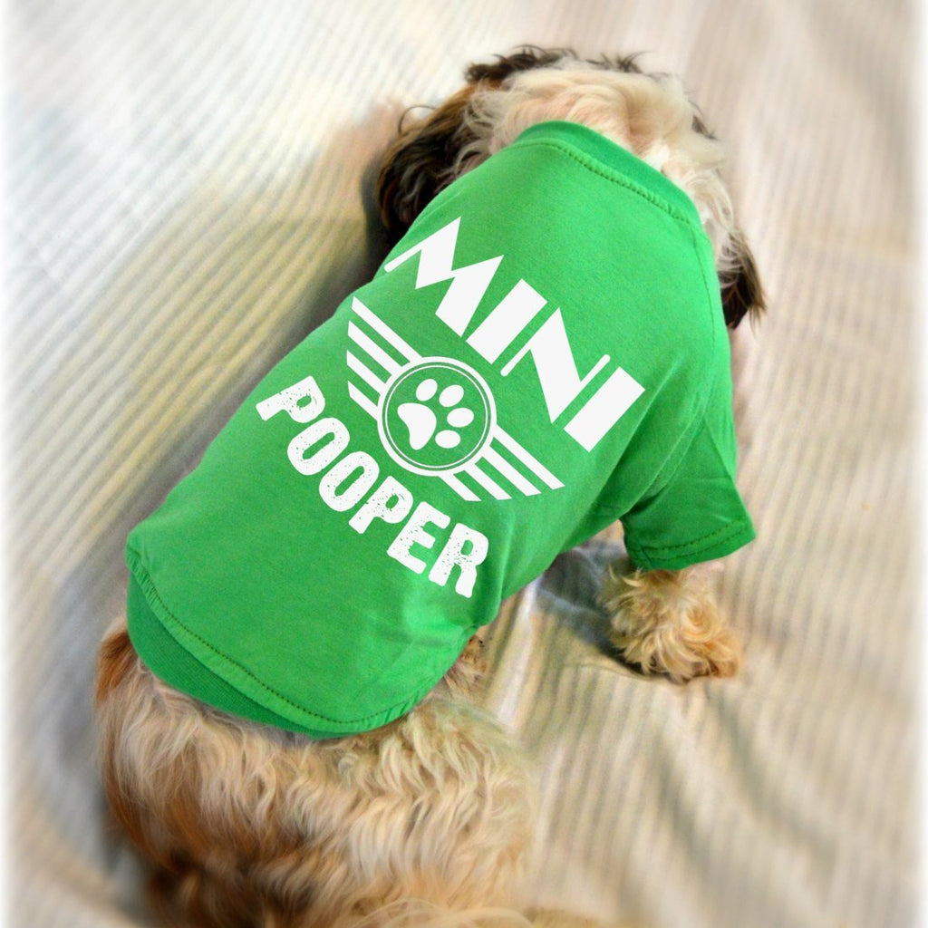 Mini Pooper Shirt Small Dog T-Shirts