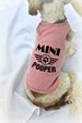 Mini Pooper Dog Tank Top Small Dog Clothing