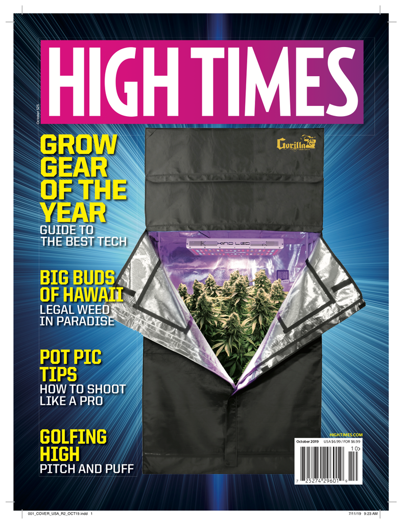 High Times Magazine #525 - October 2019