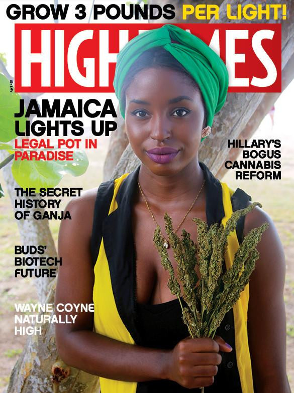 HIGH TIMES Magazine April 2016 - Issue 483