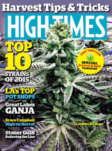 High Times Magazine December 2015 - Issue 479