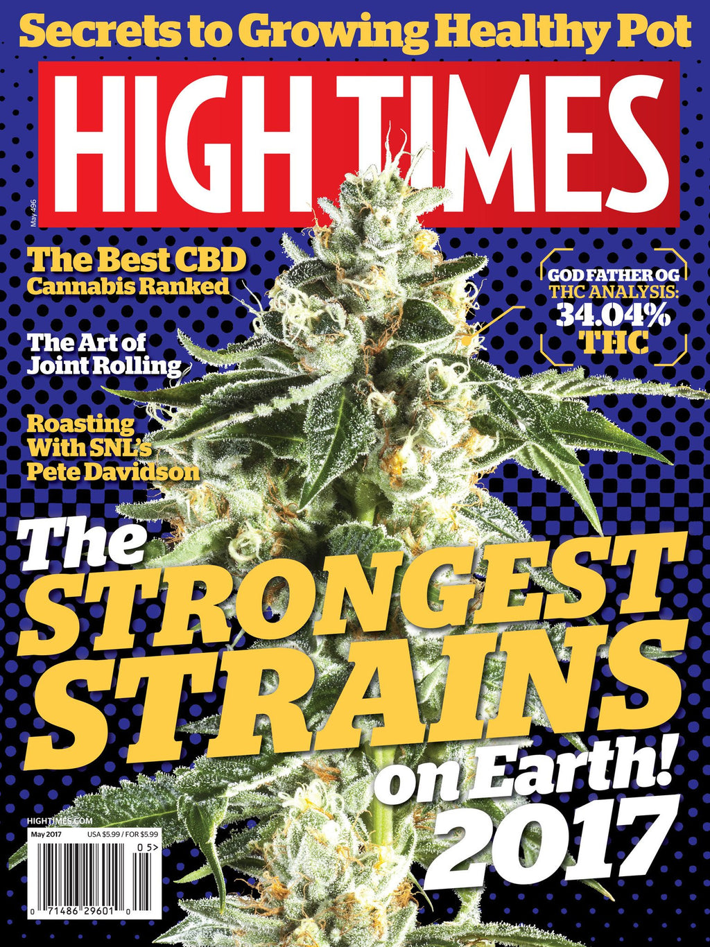 High Times Magazine May 2017 - Issue 496