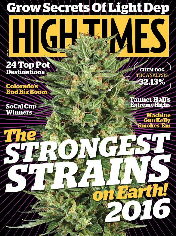High Times Magazine #485 - June 2016