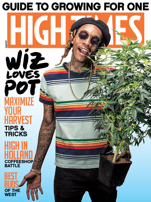 High Times Magazine #487 - August 2016