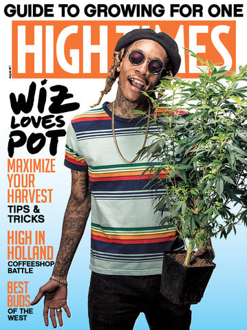 High Times Magazine August 2016 - Issue 487