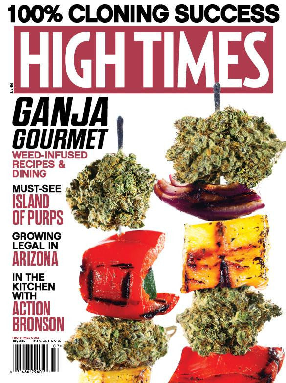 High Times Magazine #486 - July 2016