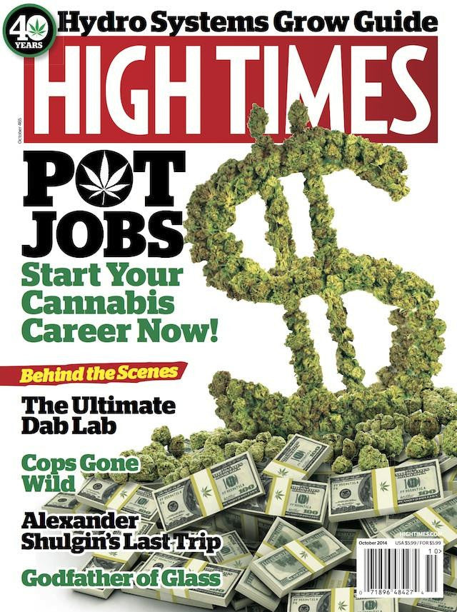 High Times Magazine #465 - October 2014
