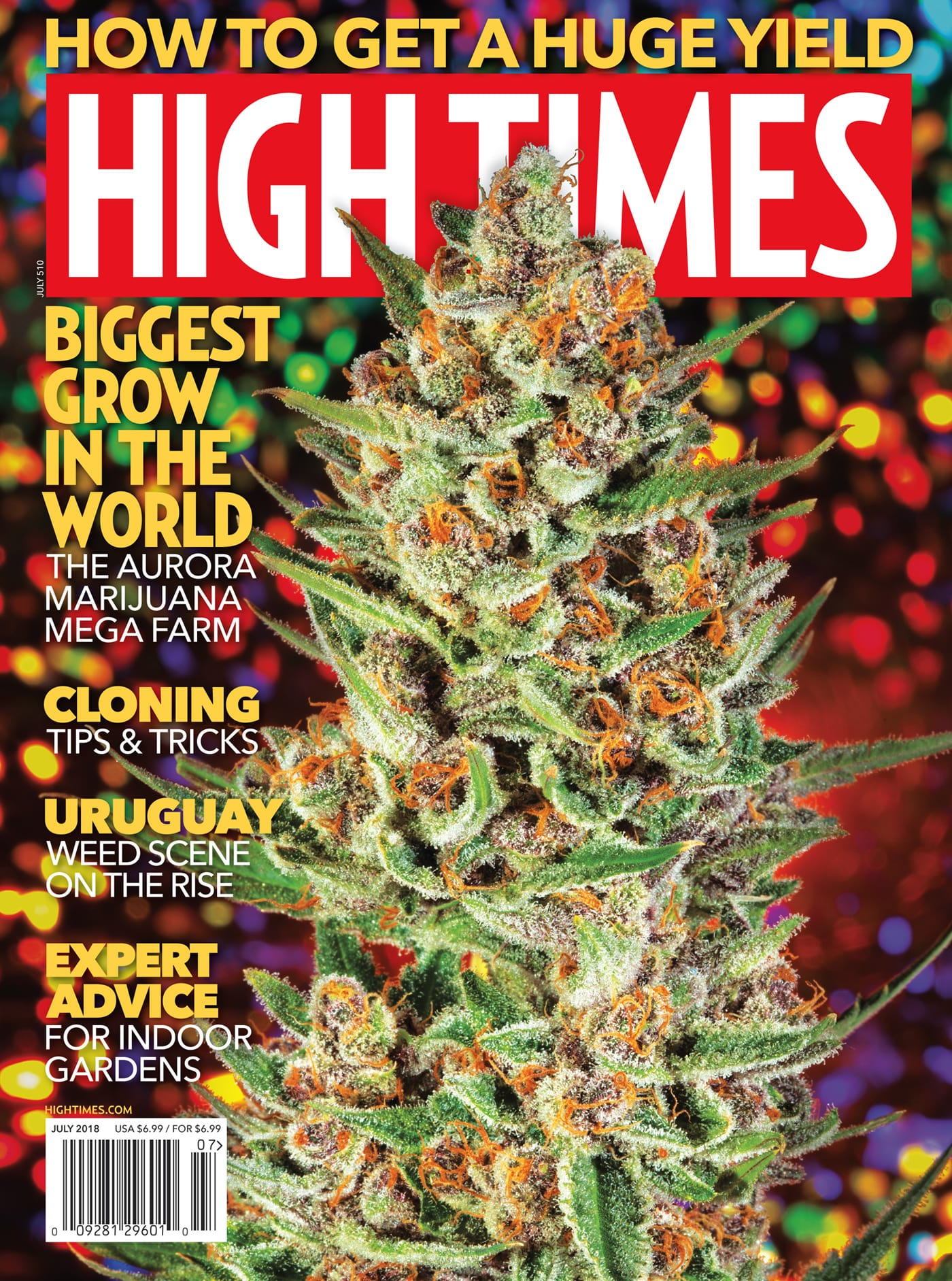 HIGH TIMES Magazine July 2018 - Issue 510