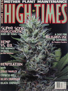 HIGH TIMES Magazine December 1995 - Issue 244