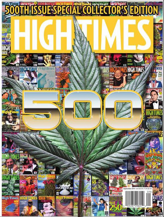 High Times Magazine #500 - September 2017