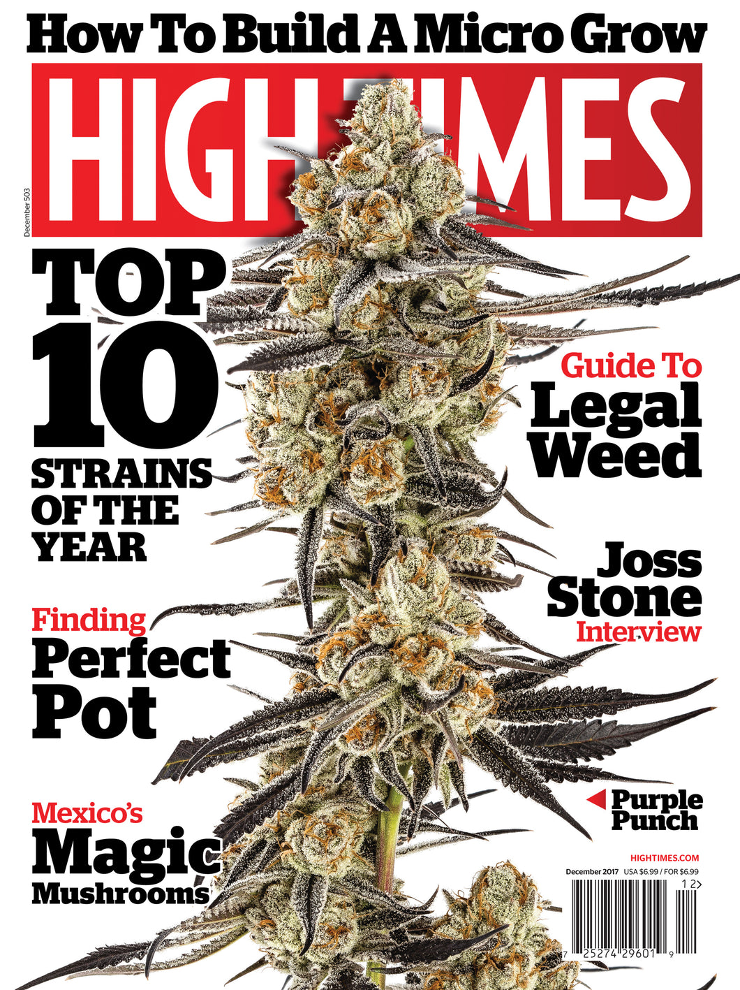 HIGH TIMES Magazine December 2017 - Issue 503