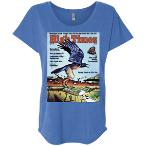 1977 HighTimes Cover Women's Shirt - The Art of Dreams
