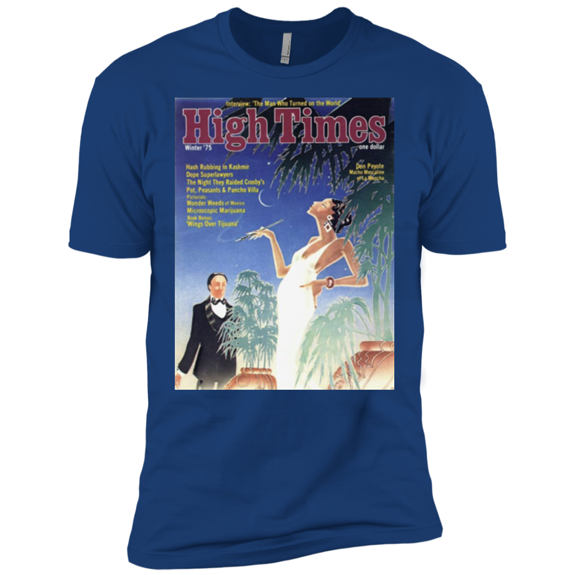High Society T-Shirt-1975 Vintage Cover Men's T-Shirt