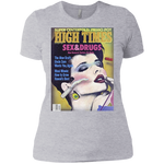 1985 High Times Cover Women's Tee - Sex & Drugs