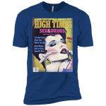 1985 High Times Cover Men's Shirt - Sex & Drugs