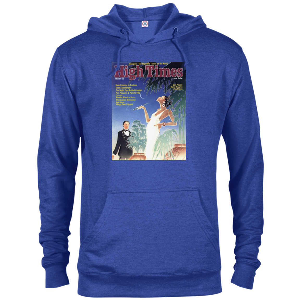 High Society Hoodie -1975 High Times Cover Men's Hoodie
