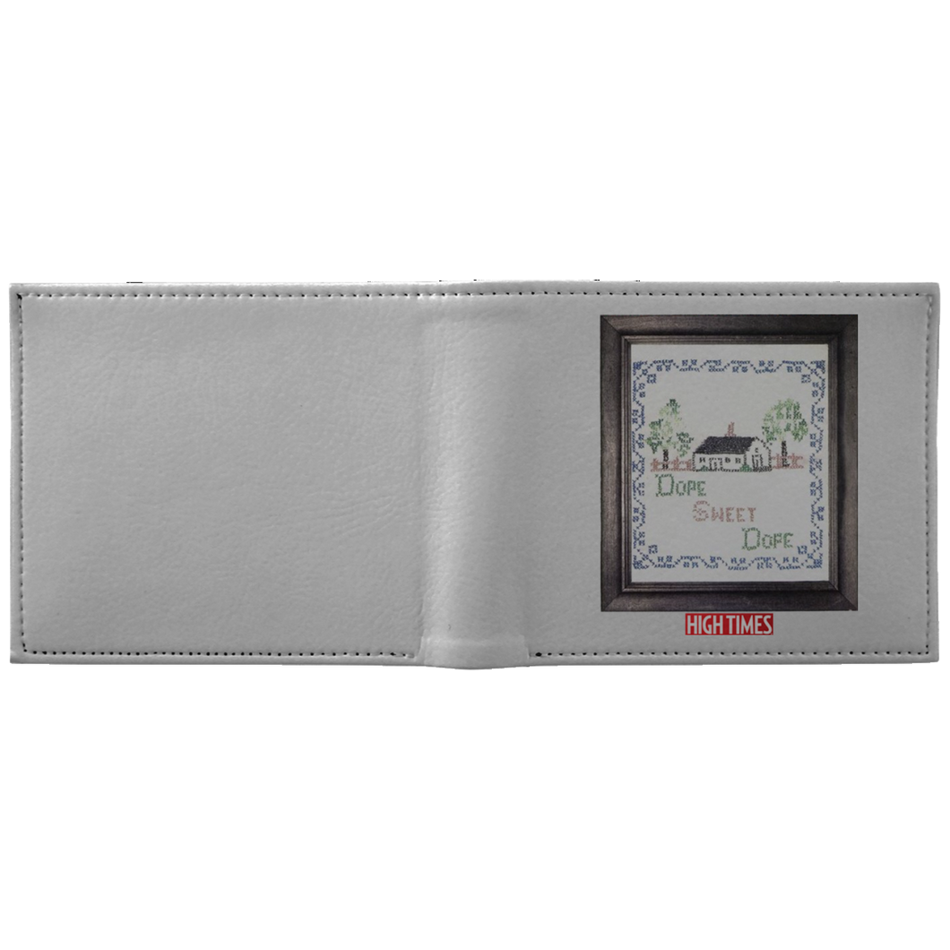 1984 HighTimes Art Wallet - Dope Sweet Dope