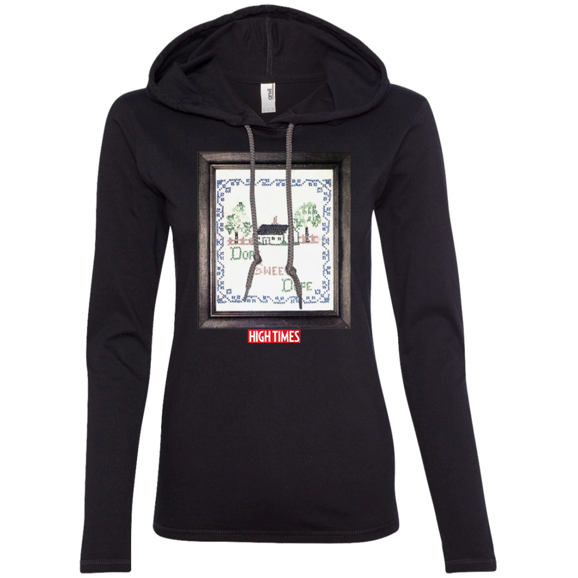 1984 High Times Art Women's Hoodie - Dope Sweet Dope