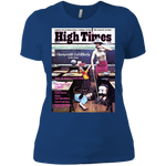 1977 High Times Cover Women's Tee - School Drill