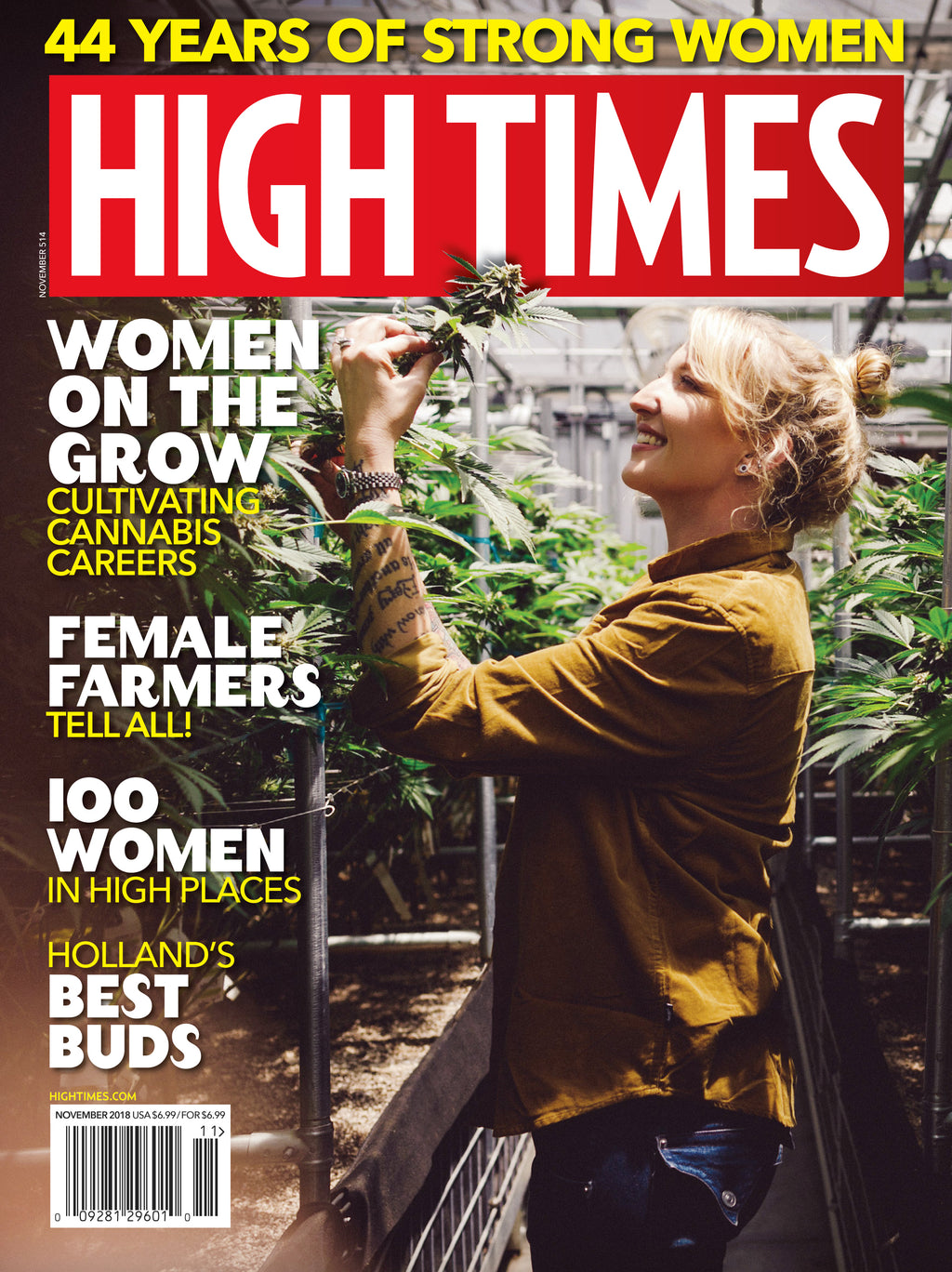 HIGH TIMES Magazine November 2018 - Issue 514