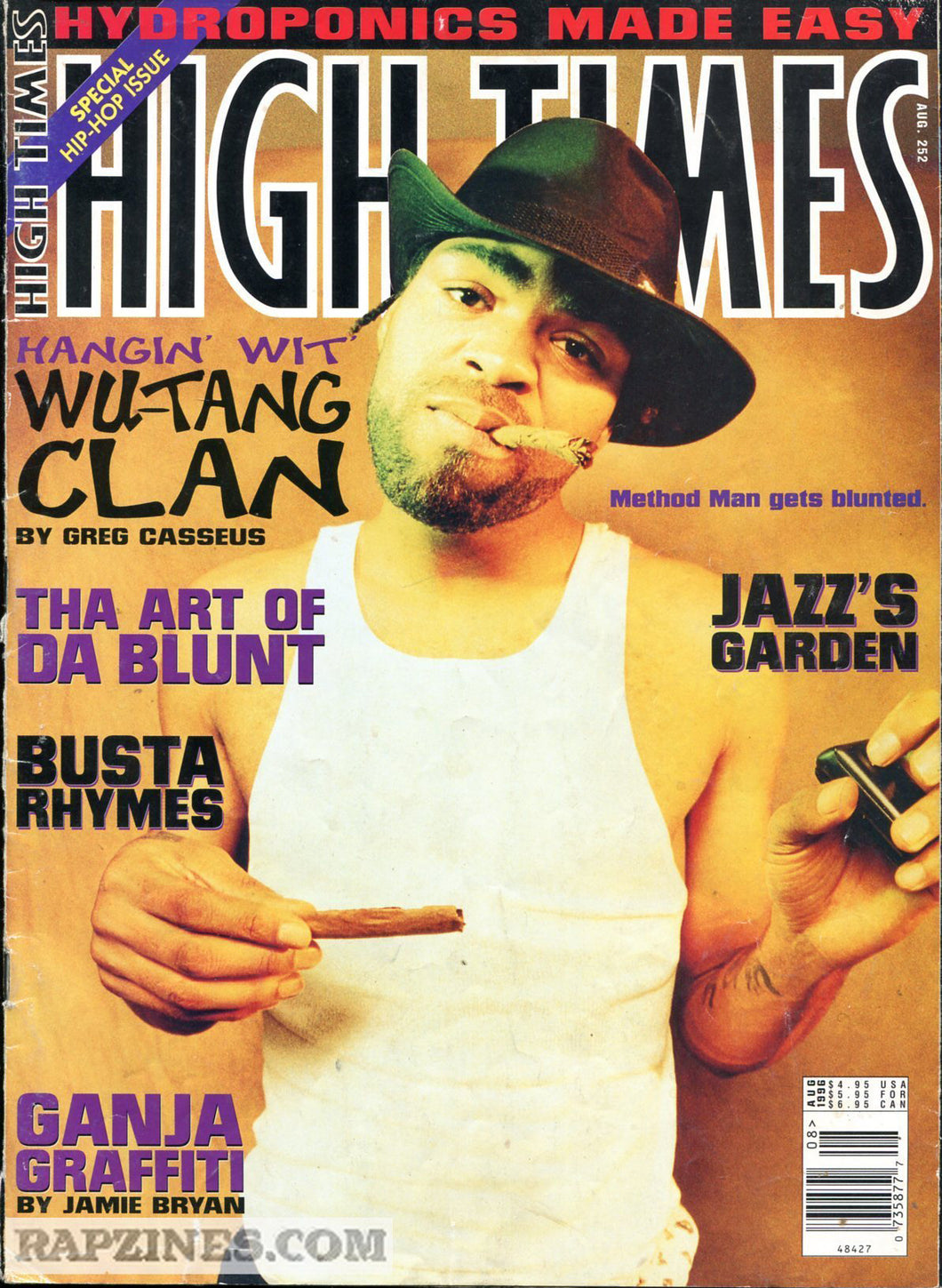 HIGH TIMES Magazine August 1996 - Issue 252