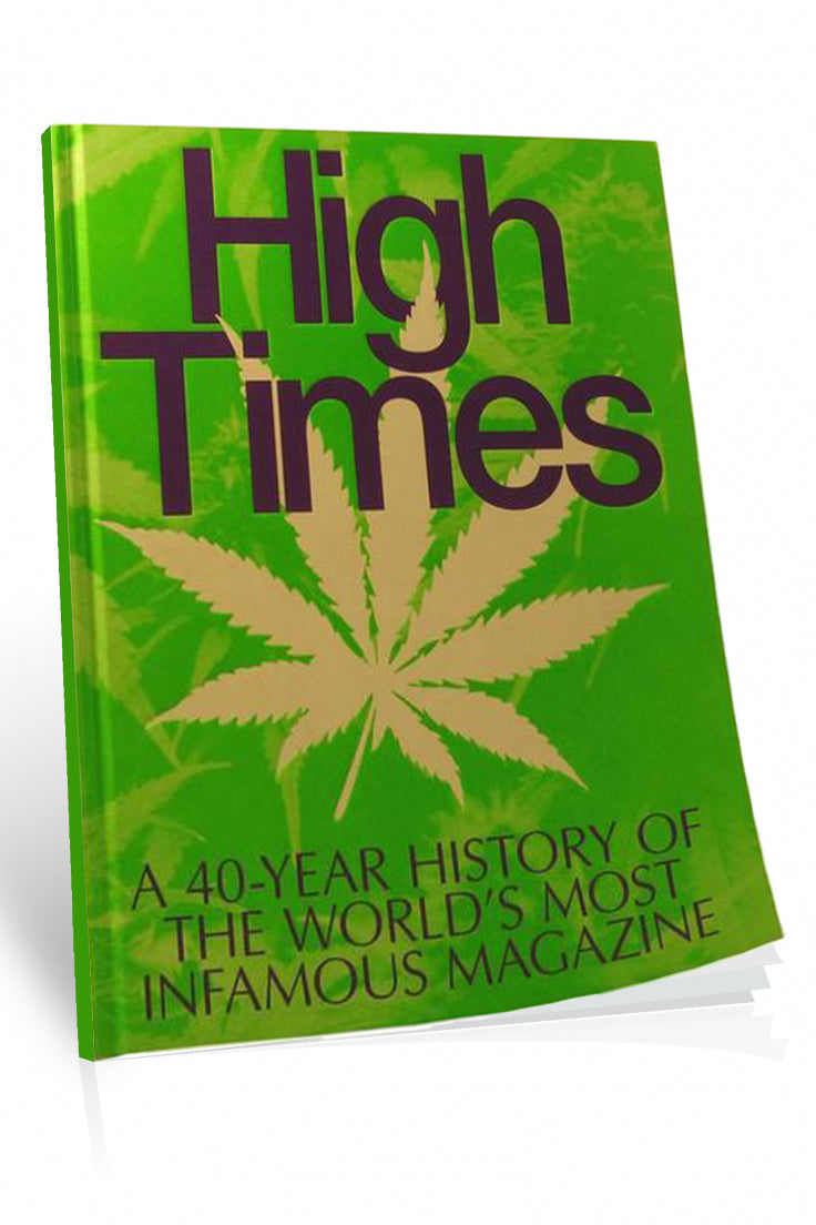Limited edition book: High Times - A 40 Year History