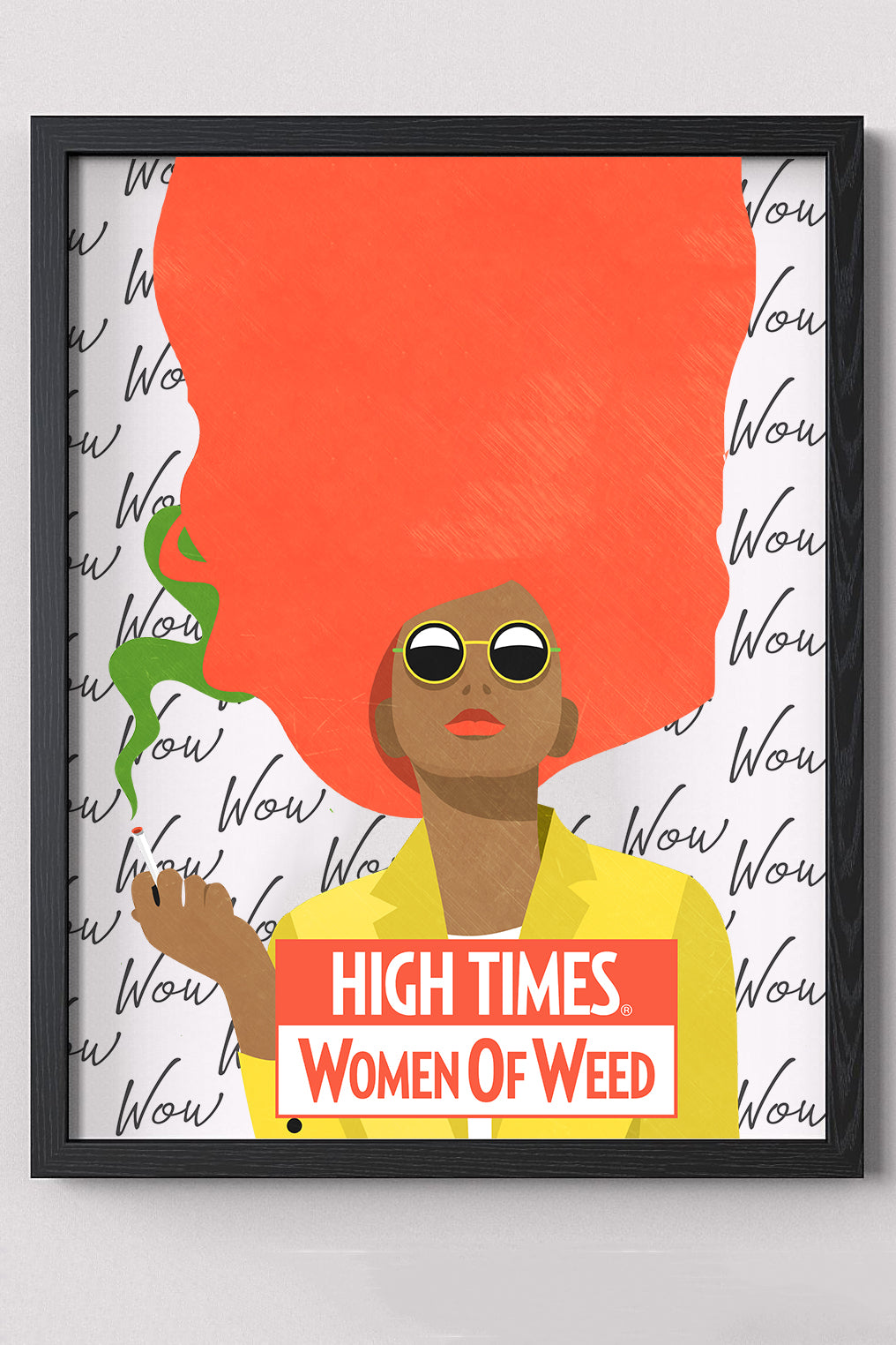 Limited edition poster: Women of Weed