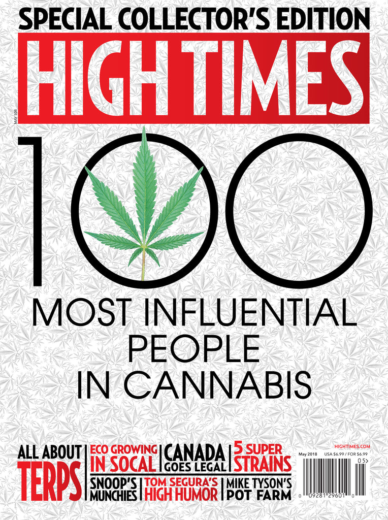High Times Magazine #509 - May 2018