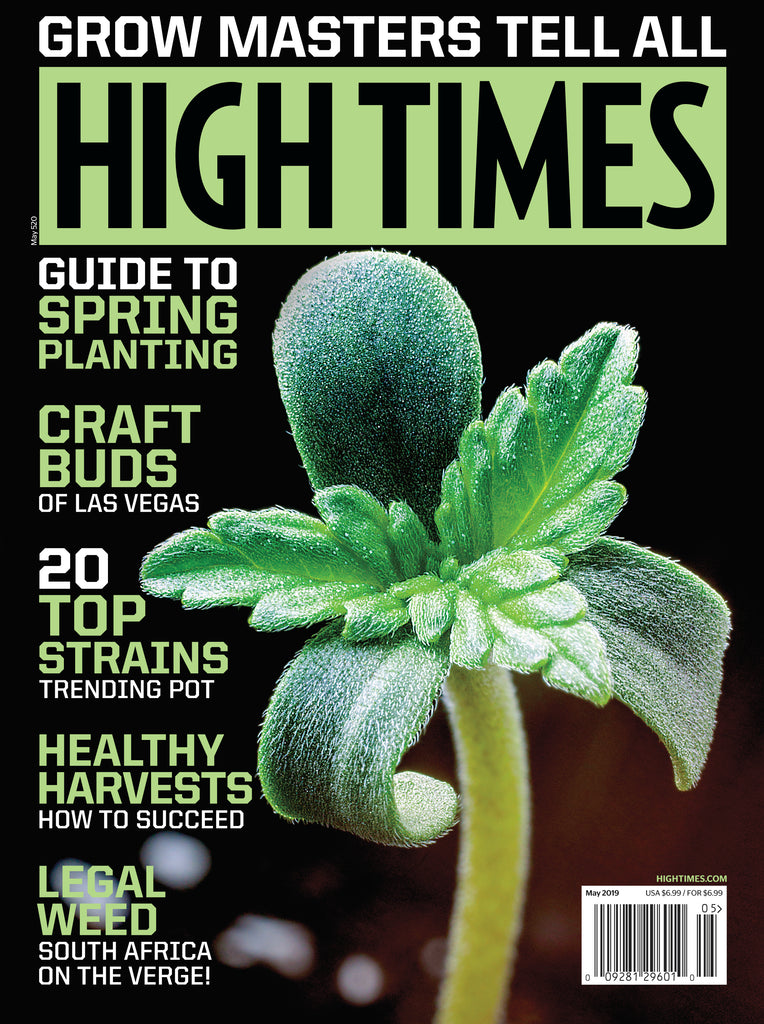 High Times Magazine #520 - May 2019