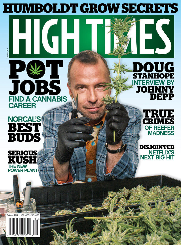 High Times Magazine #501 - October 2017