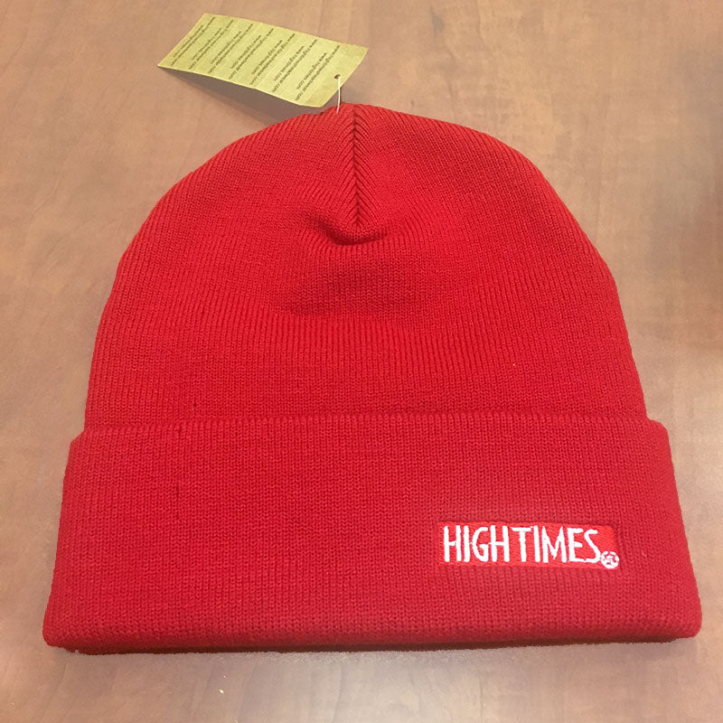 High Times Micro Ribbed Beanie