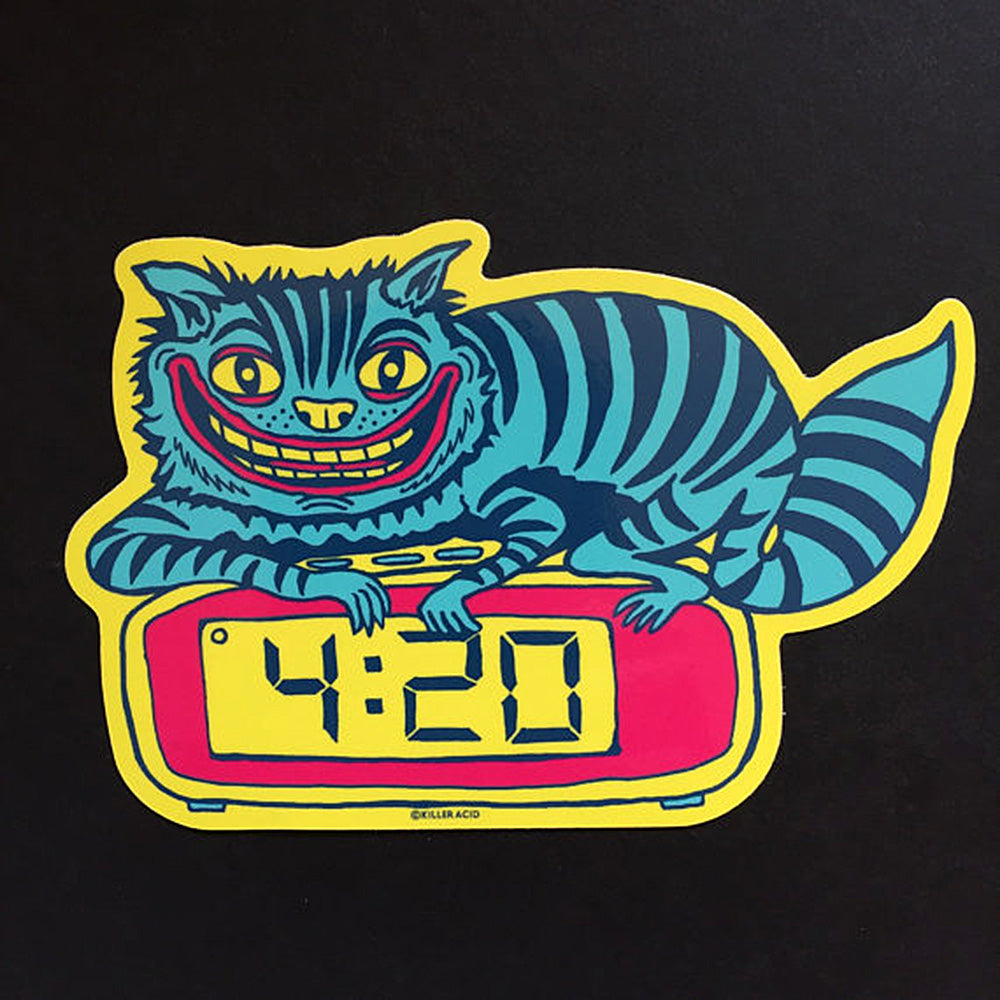 Stoner Kitty sticker