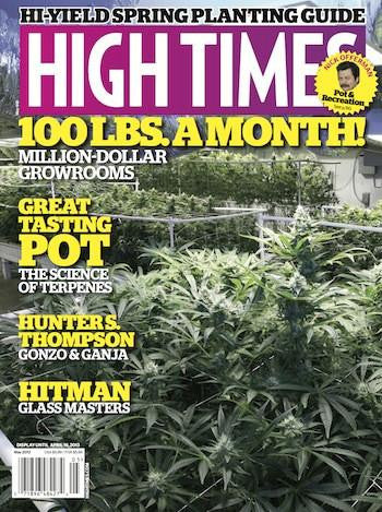 High Times Magazine #448 - May 2013