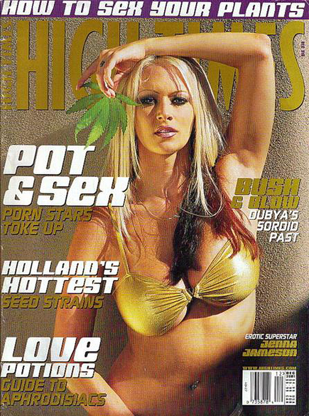 HIGH TIMES Magazine December 2001 - Issue 316